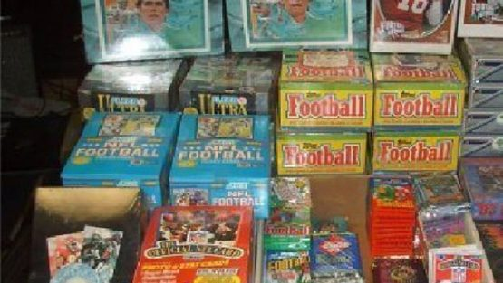 How to Sell Old Football Cards