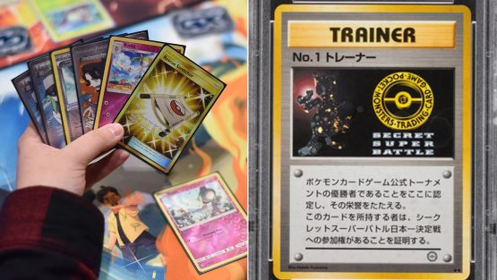 Pokémon No. 1 Trainer Card