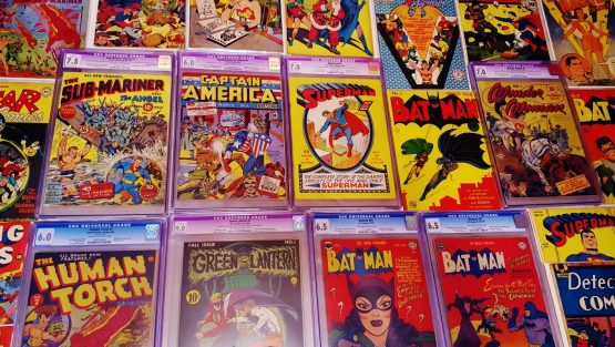 The Golden Age of Comic Books
