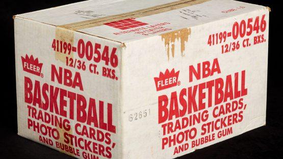 Unopened Fleer Basketball Cards Sell for Big Bucks