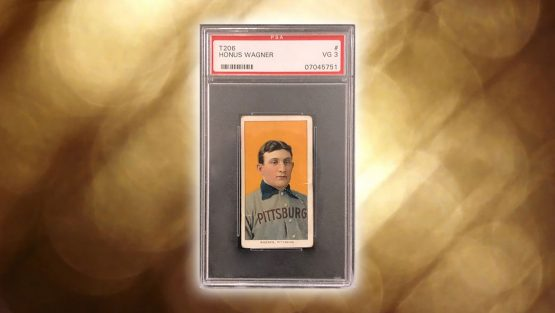 T206 Honus Wagner Card Sells for $1.1 Million at Mile High Auction