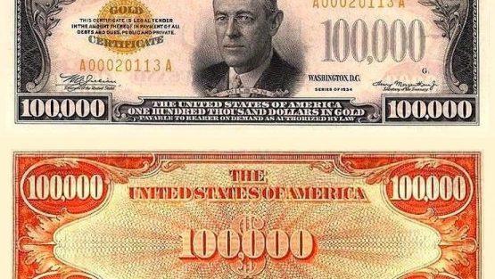The $100,000 Bill