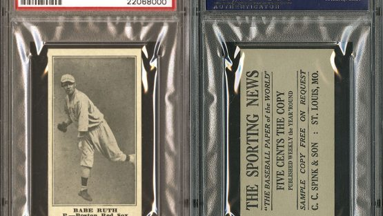Babe Ruth Card Brings In Six Figures