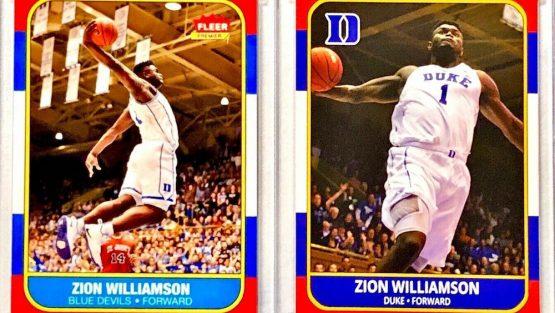 Rookie Zion Williamson Card Set to Make Waves