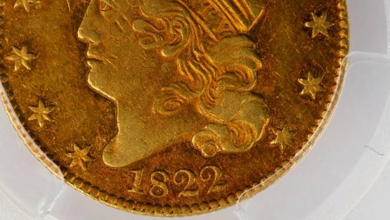 Stunning 1822 Coin Fetches $8.4 Million at Auction
