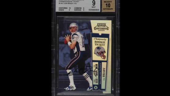 Tom Brady Setting More Records, This Time in Sports Cards
