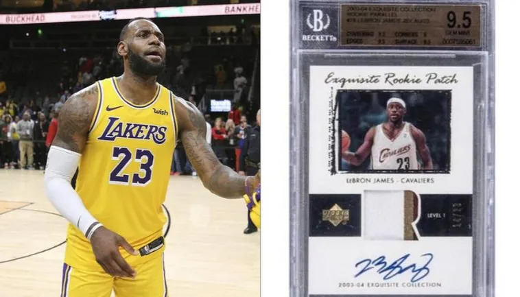 LeBron James Rookie Card Brings in a Whopping $5.2 Million